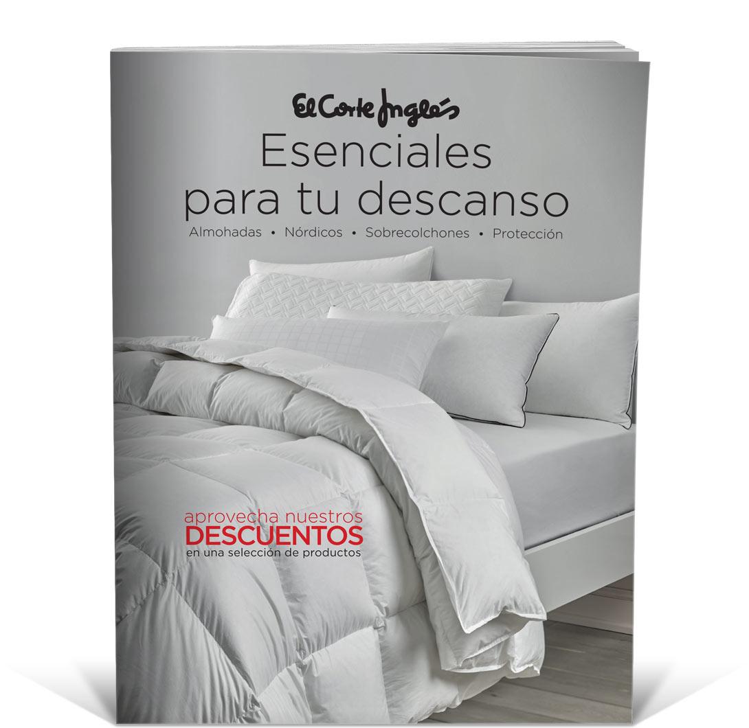 Catálogos - Esenciales para tu descanso · El Corte Inglés 6724c104abd9